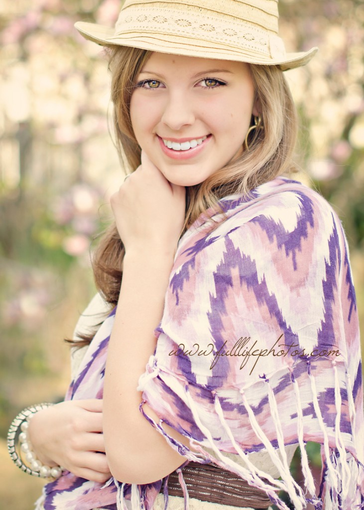Chattanooga Photography Soft & Pretty Senior