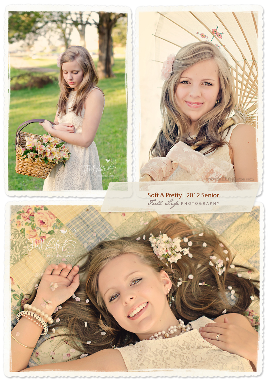 Chattanooga Senior Photography Soft & Pretty