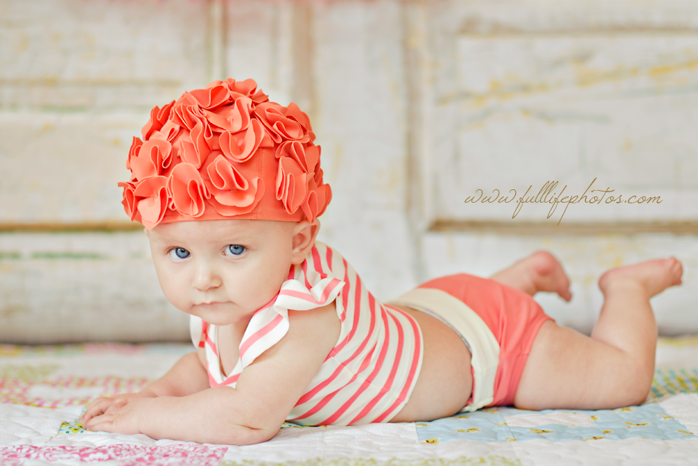 Bathing Beauty Chattanooga Baby Photgraphy