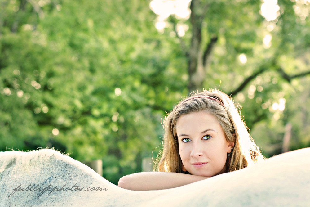 Chattanooga Senior Photography Horse
