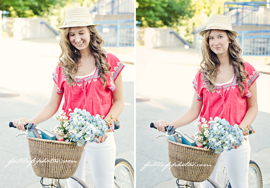Chattanooga Senior Photos Bike