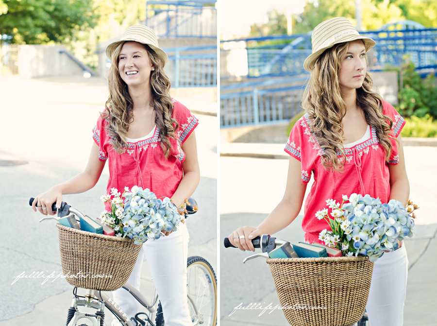 Chattanooga Senior Portraits Bike
