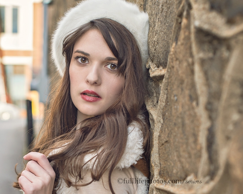 Chattanooga Senior Photography in Winter
