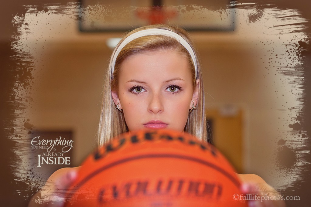 senior girl basketball