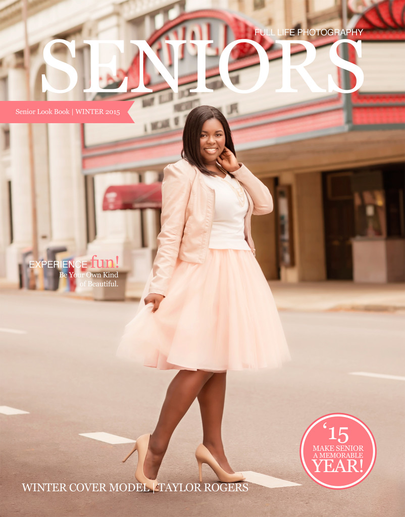Senior Portrait Magazine cover