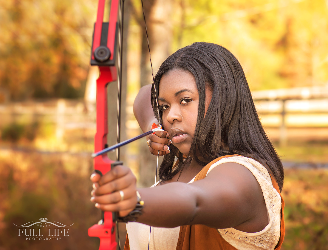 Senior Portraits archery